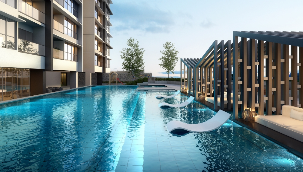 Level 3 Salt Water Swimming Pool